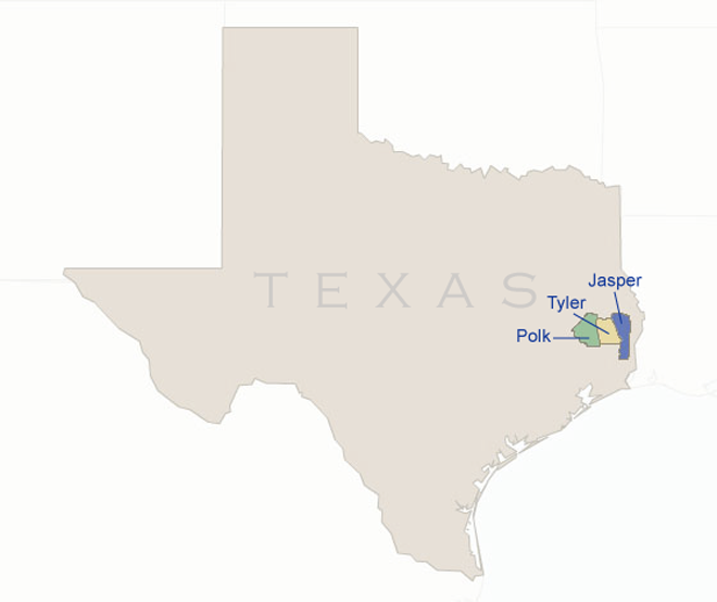 BBX LLC Texas Locations